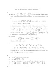 MATH 225 Homework 3 Solutions