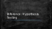 04 Hypothesis Testing