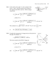 11_Ch 15 College Physics ProblemCH15 Electric Forces and Electric Fields