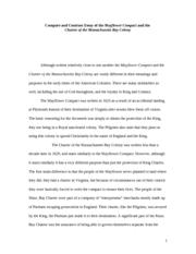 Mayflower Compact 1620 Document