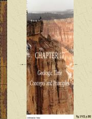 CH 17-GEOLOGIC TIME.ppt