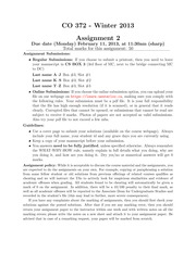Assignment 02 (Solutions)