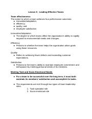 Copy of Lesson 5 - leading effective teams.docx