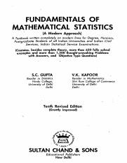 FUNDAMENTAL OF MATHEMATICAL STATISTICS-S C GUPTA & V K KAPOOR.pdf