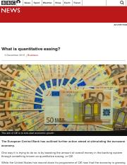What is quantitative easing or QE_ - BBC News