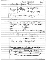 Lecture 28 (Notes)
