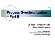 2013-10-03 Process Synchronization 2