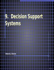 09  Decision Support Systems(2)