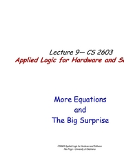 Lecture09TheBigSurprise