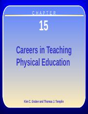Chapter 15 Physical Education
