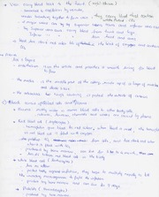 Notes - Circulation System