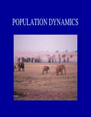 Population Dynamics.ppt