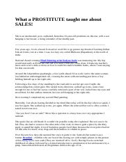 What a PROSTITUTE taught me about SALES.docx