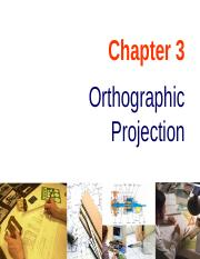 Chapter 03 Orthographic Projection
