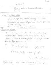 Lecture 1 Written Notes
