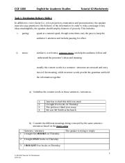CGE1000 Tutorial 10 Worksheets 2015-16.docx