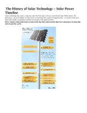 The_History_of_Solar_Technology