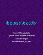 8544- 6- Measures of Association