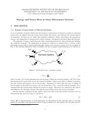05_Energy and Power Flow in State Determined Systems