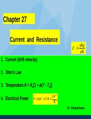 PHYS142_Spring2015_Lectures_chap_27.ppt