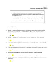 chapter 14 MGMT 4010 ANswers.docx
