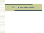 BA310-3-7 Entrepreneurship Final