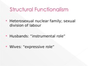 Week 8 Lecture Slides - Families