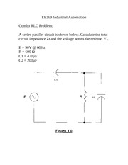 Problems - Combo cct