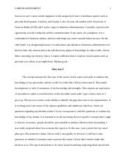 Career Assessment APA Essay BCOM3100.docx