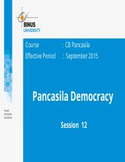 Z00220020220154038Session 12 Pancasila Democracy
