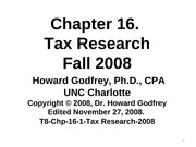T11F-Chp-16-1-Tax Research-2011F