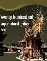 6 worship to natural and supernatural deities