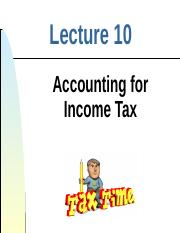 Lect 10 - Income Tax.ppt