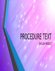 PROCEDURE TEXT.pptx