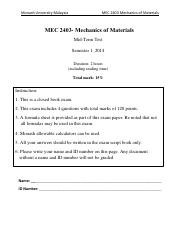 MEC2403 Test 2014 S1 With Solution.pdf
