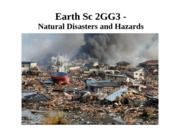 2. Natural Disasters and Hazards - ALL Units