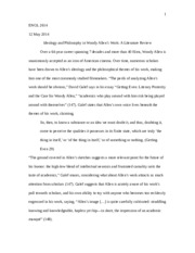 Final Essay--Literature Review