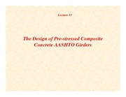 Lecture11 - AASHTO Girder Bridge