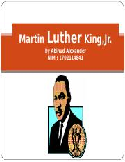 marthin luther king.ppt