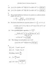 Tutorial Solutions Ch26