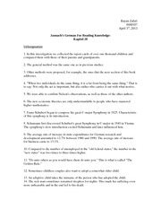 Jannach's German for Reading Knowledge: Kapitel 20 Solutions