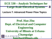 ECE530 Fall 2014 Lecture Slides 7