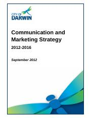 12TC0069 - Attachment A - Comms and Marketing Strategy