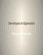 Barrierstodiversity.stereotypes.to.oppression