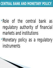 CENTRAL BANK AND MONETARY POLICY (3).pptx