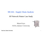 MS454-18-HP Network Printer Case
