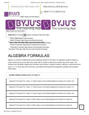 Physics formulas _ Basic physics formulas pdf download pdf - Physics