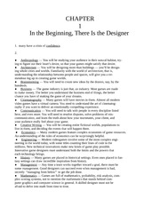 Chapter One - In the Beginning, There Is the Designer