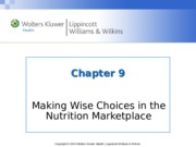 Nutrition Chapter_09  lecture notes