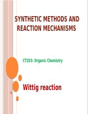 CT203 organic synthesis LS5